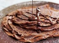crepes au nutella