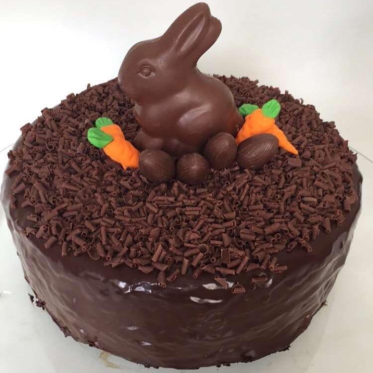 gateau nid de paques au chocolat recette