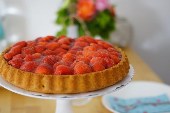 tarte aux fraises Gariguette