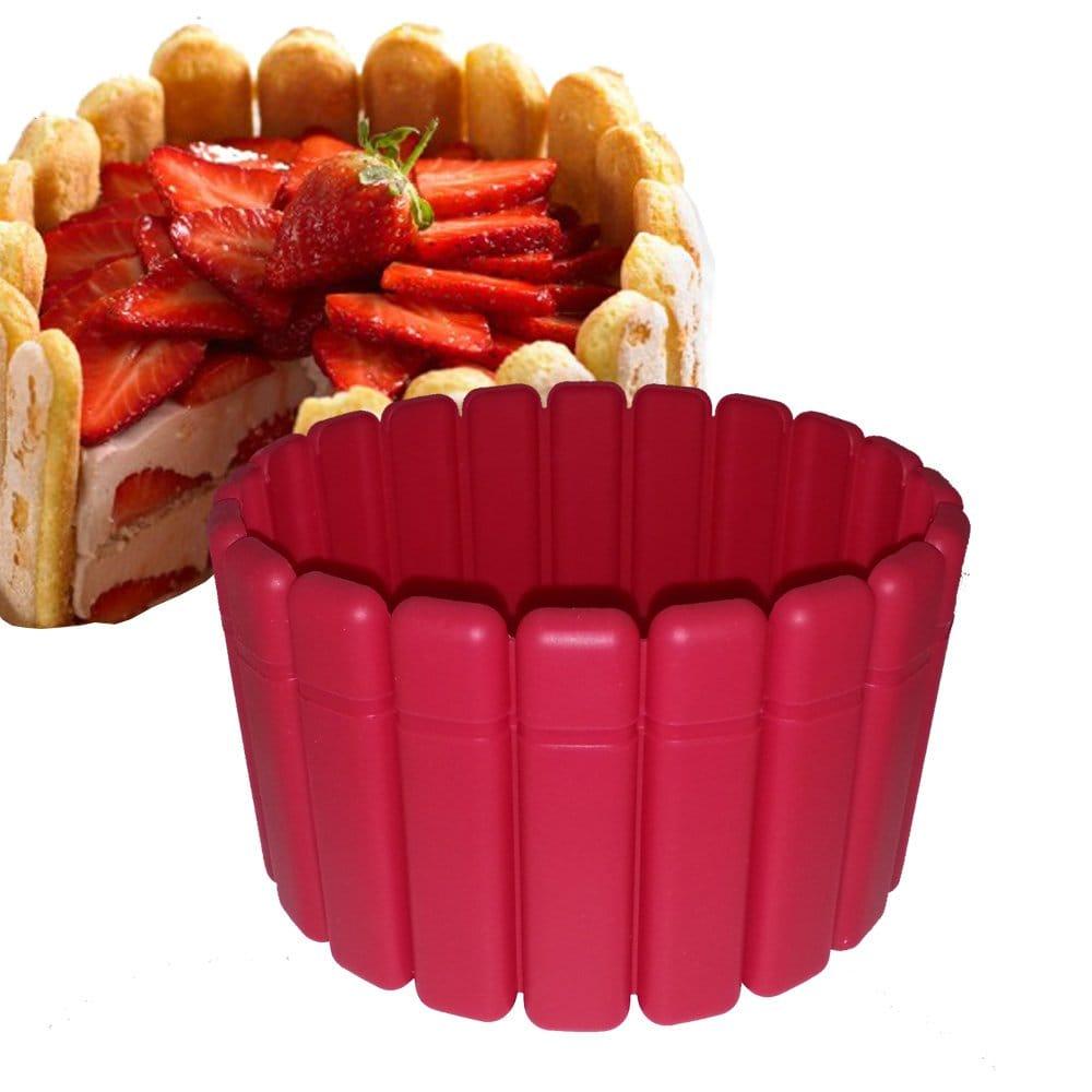 charlotte aux fraises moule silicone