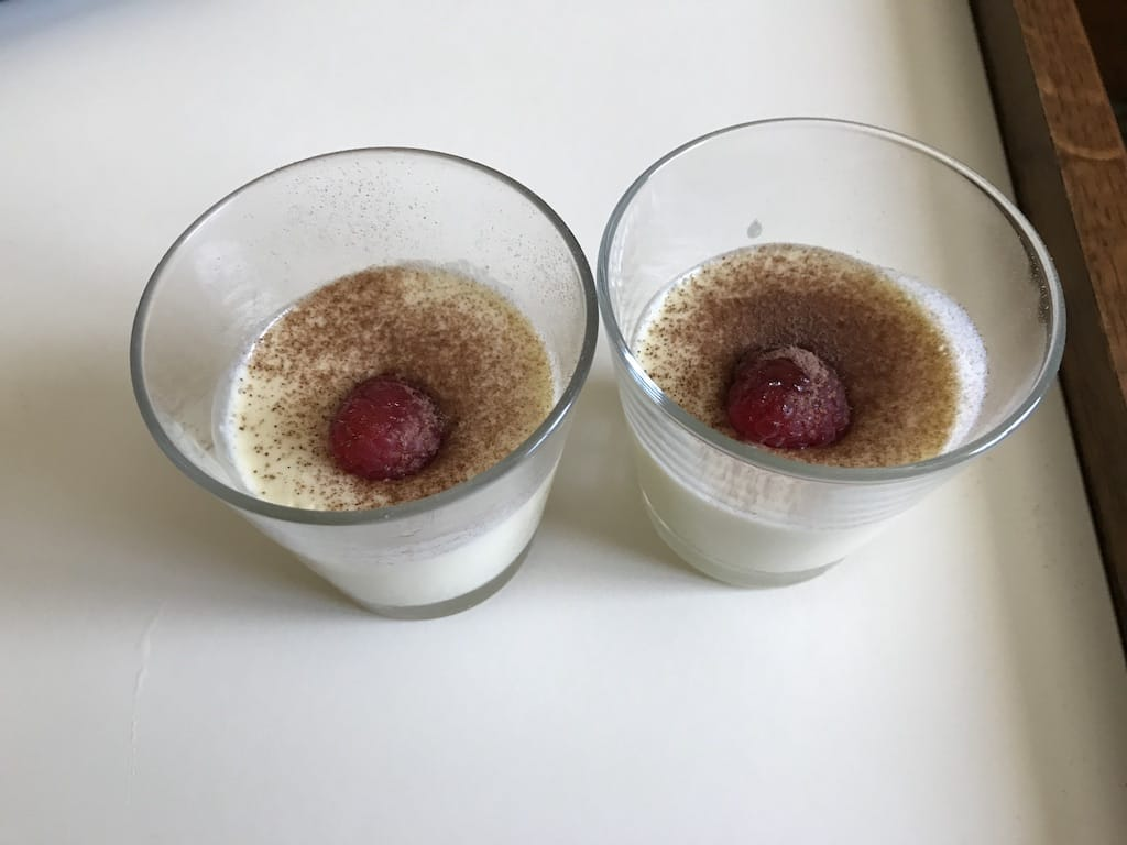 Mousse au chocolat blanc recette